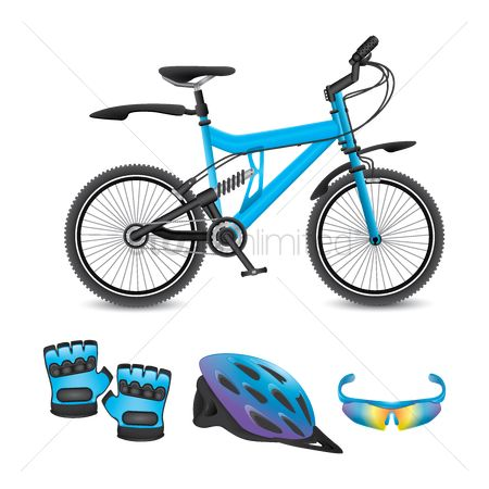 Race : Set of biking gear