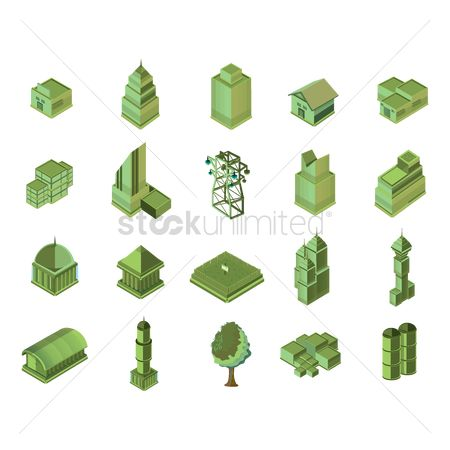 Skyscraper : Set of buildings