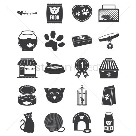 Trophy : Set of cat icons