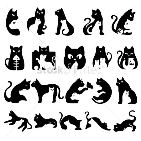 Character : Set of cats