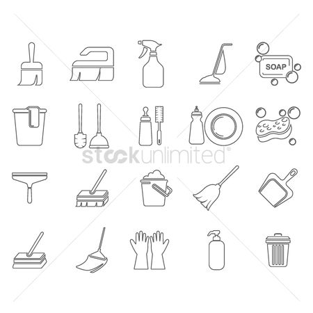 Cleaner : Set of cleaning tools