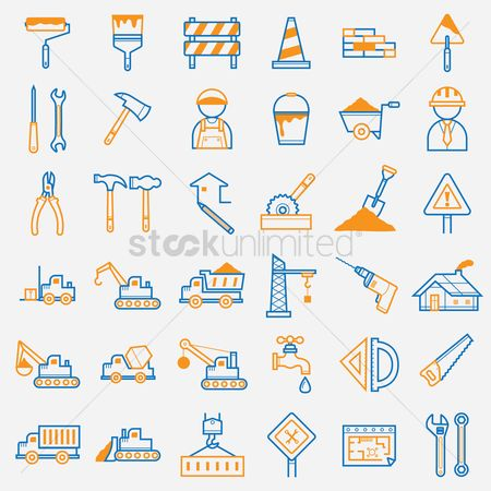 Constructions : Set of construction icons