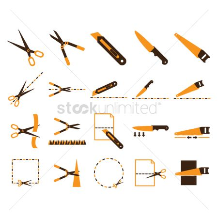 Shearing : Set of cutting tools