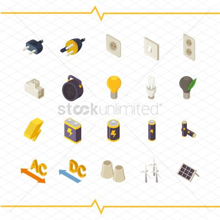 Nuclear : Set of electrical items