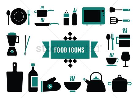 Teapot : Set of food icons