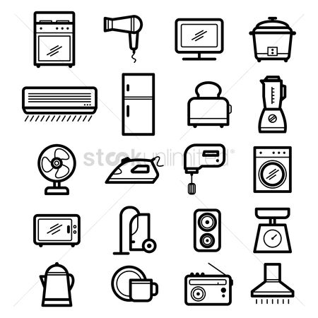 Washing machine : Set of home appliances