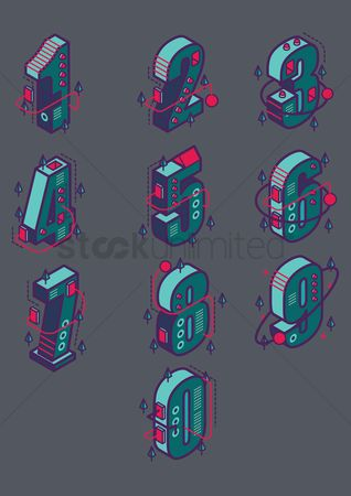 Dimensional : Set of isometric numbers