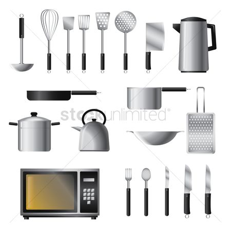 Fork : Set of kitchenwares