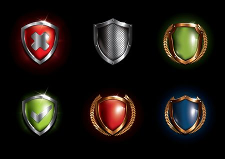 Shield : Set of shields