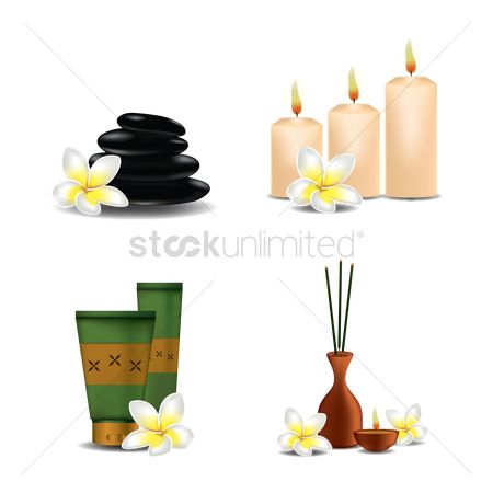Aroma : Set of spa items