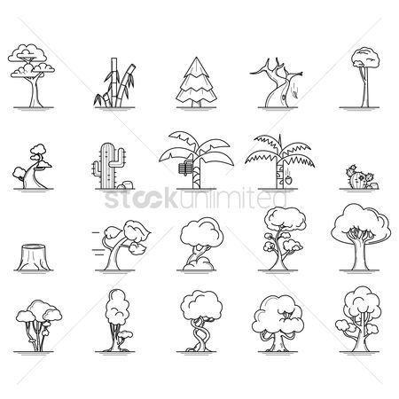 Cactuses : Set of trees