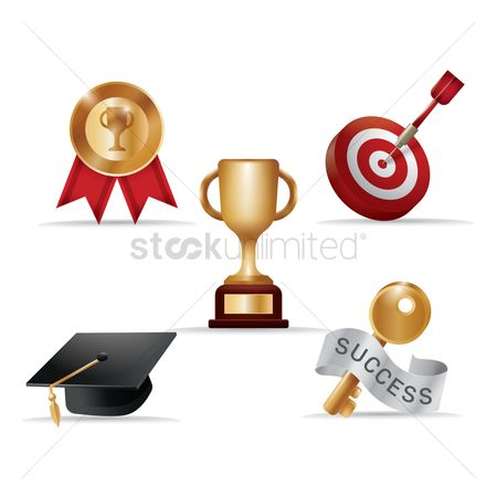 Dartboards : Set of various awards