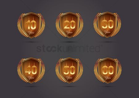 20 years : Set of years emblem