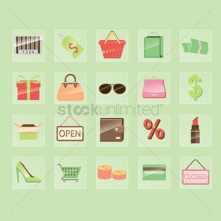 Credits : Shopping icons