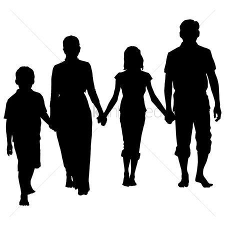 Sons : Silhouette of a family