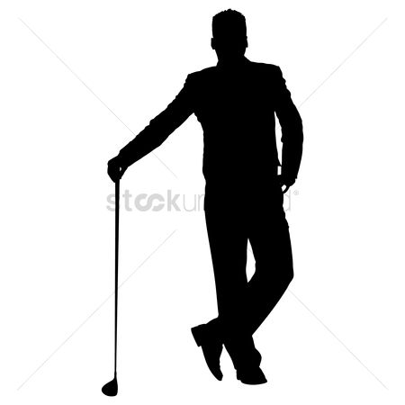 Free Golf Silhouette Stock Vectors Stockunlimited