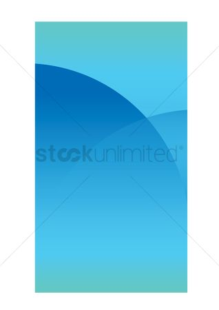 Mobiles : Simple blue background