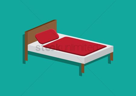 Households : Single bed