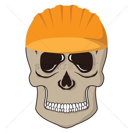 Contractor : Skull with helmet
