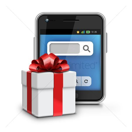 Gifts : Smartphone and gift