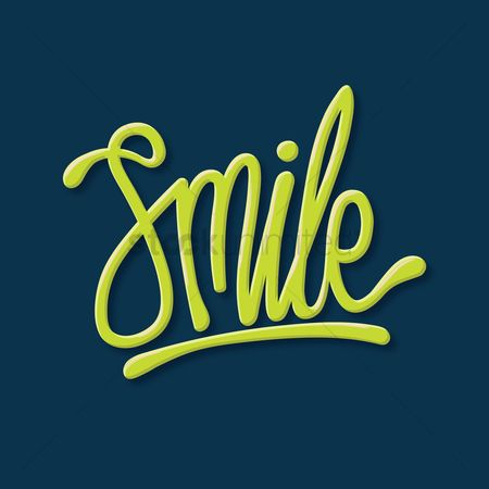 Typographics : Smile