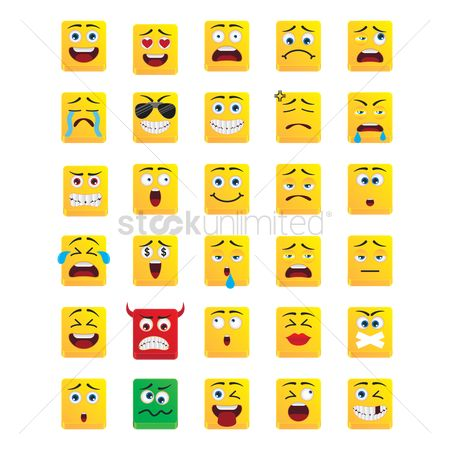 Expression : Smiley emoticons