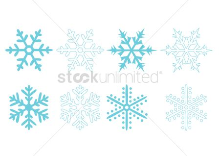 Season : Snowflake icons