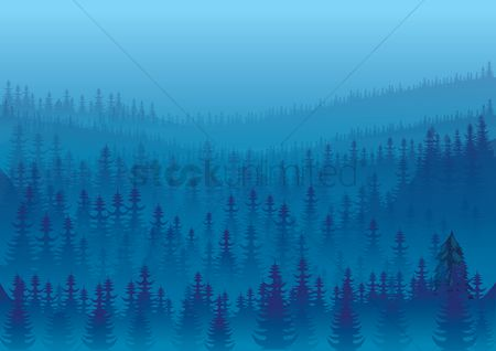 Mountains : Snowy mountains background