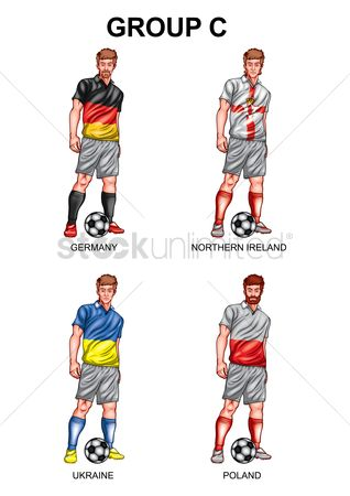 Ukraine : Soccer players group c