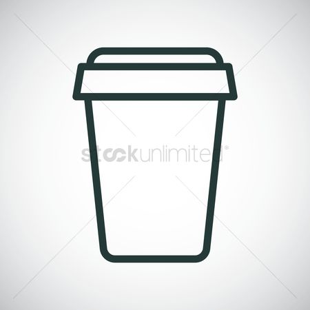 Take away cup : Soft drink cup