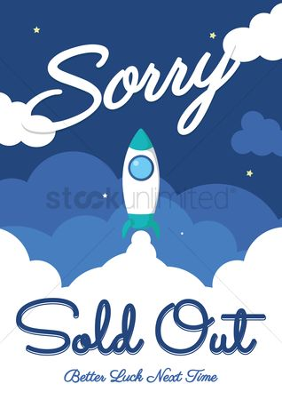 Sold : Sorry sold out background
