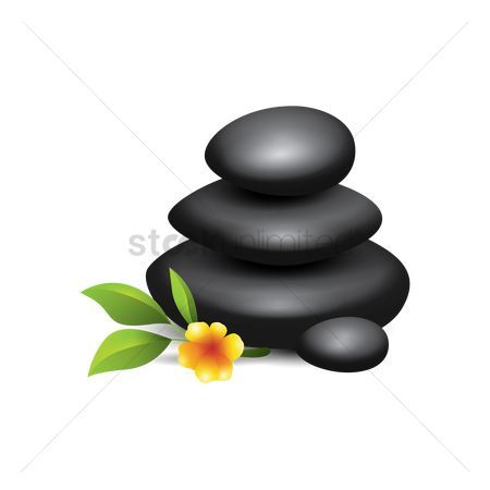 Zen : Spa pebbles