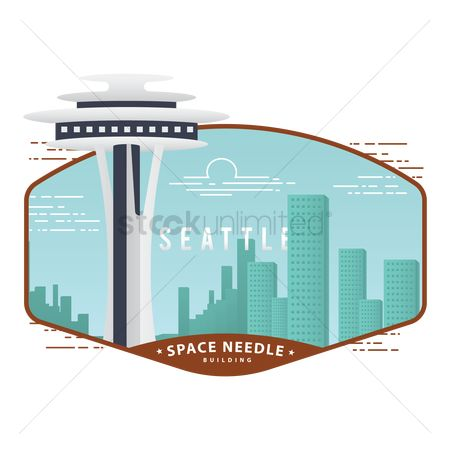 Needle : Space needle building