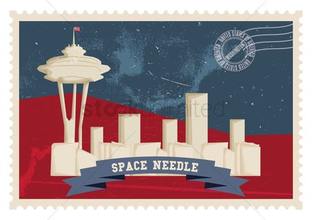 Space needle : Space needle poster