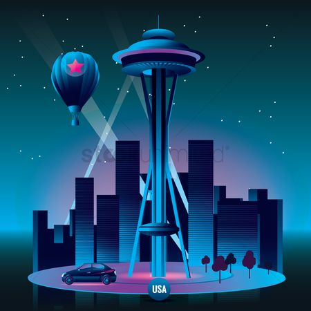 America : Space needle