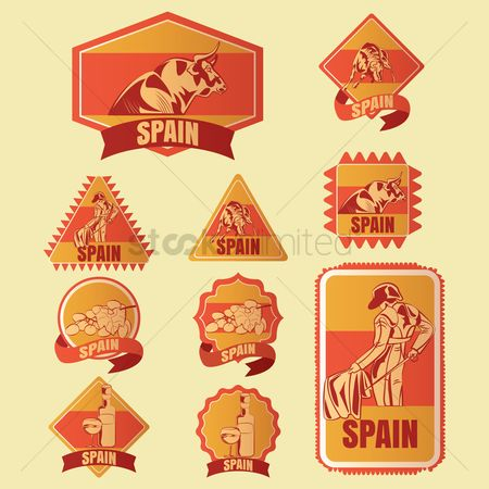 Red wines : Spain stickers