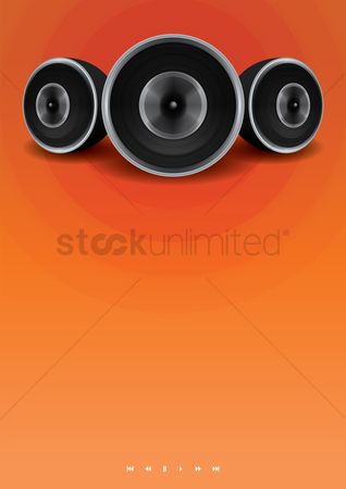 Noisy : Speakers poster design
