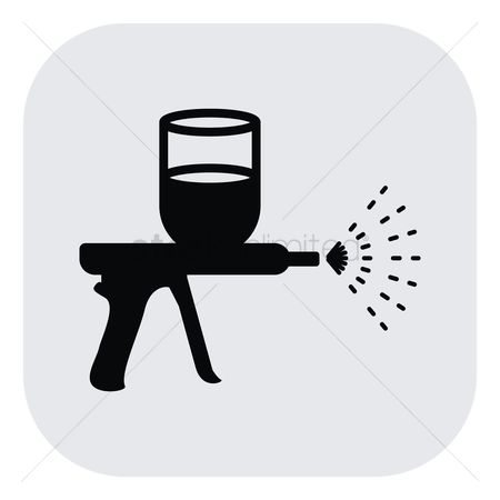 Free Paint Spray Gun Stock Vectors Stockunlimited