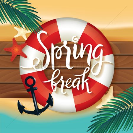 Lifebuoy : Spring break design