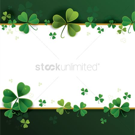 Signs : St patricks day theme background