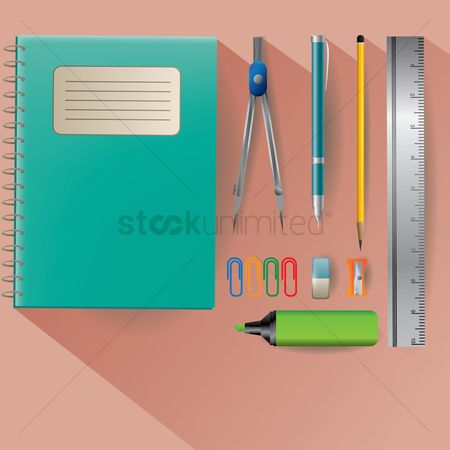 Clean : Stationery supplies