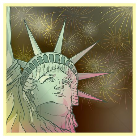 New york : Statue of liberty design
