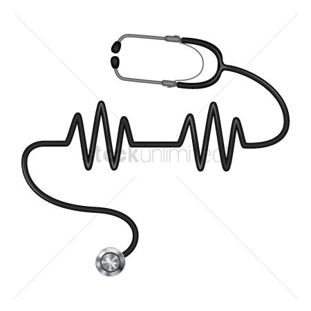 Clinicals : Stethoscope with pulse