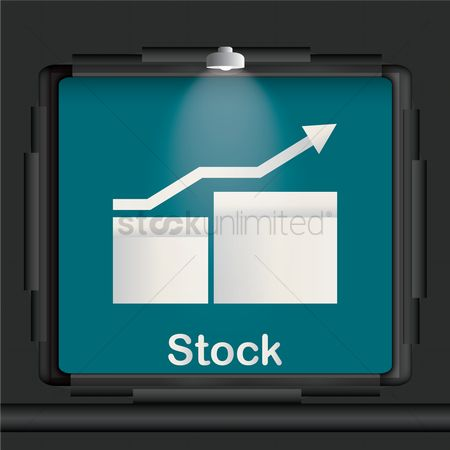 Lighting : Stock advertisement board