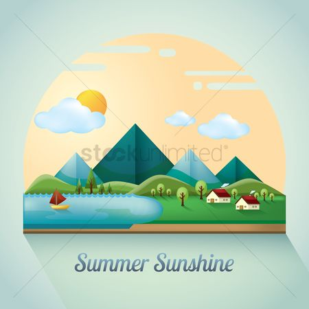 Mountains : Summer landscape