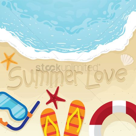 Slippers : Summer love