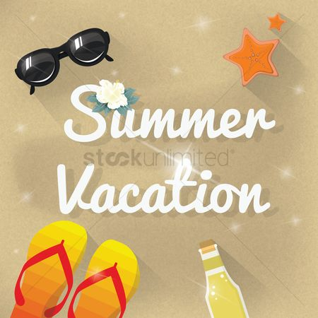 Starfishes : Summer vacation