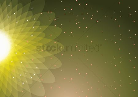 Sunray : Sunburst abstract design background