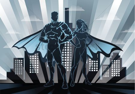 Building : Superheroes in the city