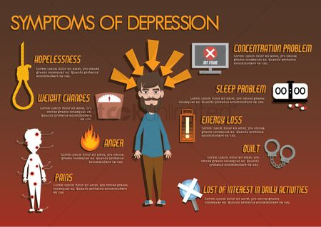 Medical : Symptoms of depression article design